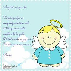 Angel De Mi Guarda Oraciones De Noche Pinterest Prayers For