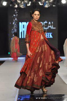 Misha Lakhani Collection at L'Oreal Paris Bridal Week 2012