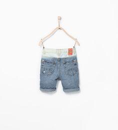 ZARA的图片 2 名称 褪色百慕達短褲