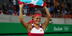 Tennis Player Monica Puig Wins Puerto Rico's First Olympic Gold Medal