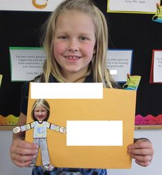 """kinda like the flat person with picture head. Delighted in Second: Flat Stanley with a Twist Sending """"Flat Me""""'s to different states Social Studies Communities, Teaching Social Studies, Teaching Time, Teaching Reading, Learning, Flat Stanley, 2nd Grade Reading, Thematic Units, Library Programs"""
