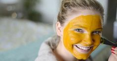 Homemade Turmeric Mask for Acne and Black Spot Treatment Turmeric Facial Mask, Scar Treatment, Skin Spots, Homemade Cosmetics, Homemade Skin Care, How To Treat Acne, Perfect Skin, Skin Problems, Face