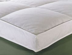 Deluxe Goose Feather & Down Baffle Box Featherbed