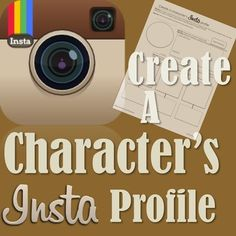 This seemingly simple worksheet will open up the minds of your students in characterizing a somewhat dated character into modern social media! This worksheet not only gets the brains ticking with what the characters in ANY text would say, but also what they would post onto their INSTAGRAM page!
