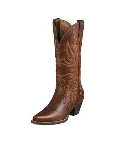 00e98376bbb Women s Heritage Western X Toe Boot - Vintage Caramel Western Boots