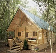 Lake of the Ozarks Cabin by Conestoga log homes