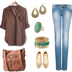 College Casual 4, created by briannalynn92 on Polyvore