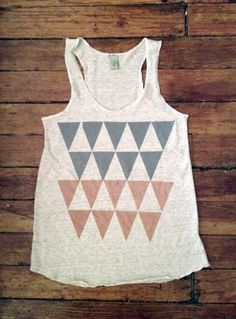 Items similar to Color Theory Screenprinted Tank Top on Etsy