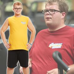 Jackson's before and after transformation! #BiggestLoser