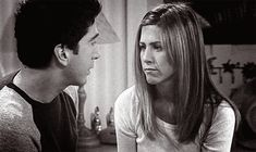 Rachel Green y Ross Geller
