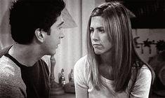 Rachel Green y Ross Geller