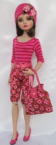 "ELLOWYNE'S IN THE PINK OUTFIT. FOR 16"" ELLOWYNE, by ssdesigns via eBay, SOLD 3/14/15  $48.99"