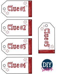 Christmas #Scavenger #Hunt with #Printables (great for oversized gifts!)
