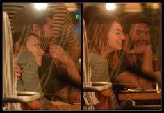Emma Stone & Andrew Garfield having dinner (June 18)