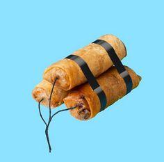 Matija Erceg | dynamite spring rolls | food | random creativity