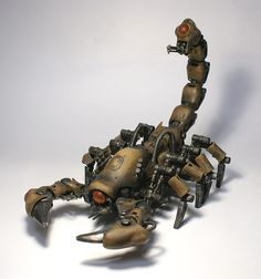 Zoids. [Robots with all kinds of animal and insect forms?]