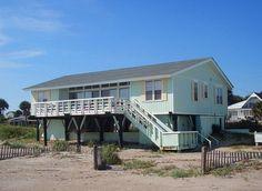 Edisto Realty - Lucky Enough - Beachfront - Edisto Island, SC - LOVE this place!!!