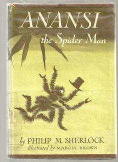 Anansi, the Spider Man, written by Philip M. Sherlock