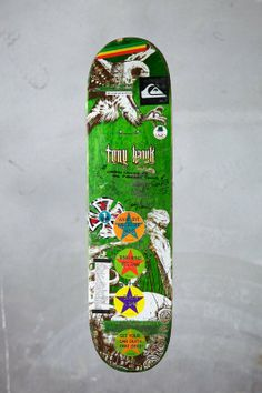Collaboration skateboard by Tony Hawk and The Clash 5380dbf239a