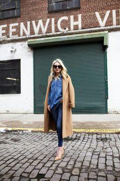 Jeans +camel, no falla