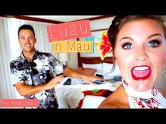 Visit Maui - LUAU PARTY! | RebeccaLouiseVlogs - YouTube