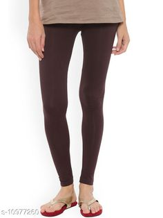 Checkout this latest Leggings Product Name: *Sakhi Shine Ankle Length Cotton Legging* Fabric: Cotton Lycra Pattern: Solid Multipack: 1 Sizes:  28, 30 (Waist Size: 30 in, Length Size: 38 in)  32, 34, 36, 38, 40, 42, 44 Country of Origin: India Easy Returns Available In Case Of Any Issue   Catalog Rating: ★3.9 (300)  Catalog Name: Fashionable Feminine Women Leggings CatalogID_2033476 C79-SC1035 Code: 382-10977260-936