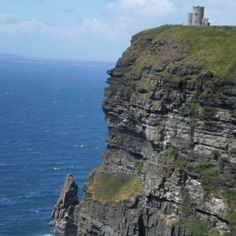 Another look at O'Brian's Tower...from the edge of the Cliffs of Mohr!