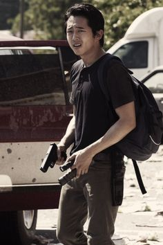 Glenn Rhee. The best character on the with the best one liners