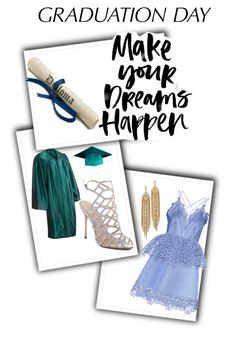 """""""graduation"""" by kelsey-rae-tx ❤ liked on Polyvore featuring self-portrait, Schutz, Capwell + Co and graduationdaydress"""