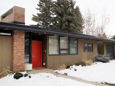 A Calgary couple have requested their home, one of only 11 built across the country as part of the national Trend House Program, be designated as a municipal historic resource. Calgary News, City Council, Preserves, Canada, Country, Building, Outdoor Decor, Houses, Couple