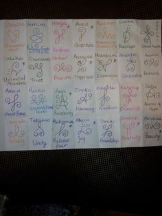 I love my zibu symbols....