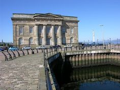 Custom House Quay and Custom House, Greenock, Renfrewshire, Inverclyde,  Scotland