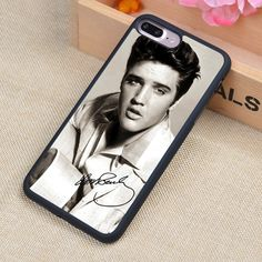 Elvis Presley signed Printed Soft TPU Skin Cell Phone Cases For iPhone 6 6S Plus 7 7 Plus 5 5S 5C SE 4 4S Back Cover Shell