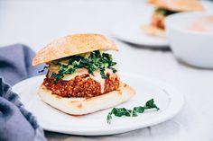 bloody mary veggie burgers (vegan, gluten-free & nut-free) - The First Mess