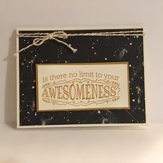 Inspired Stamping by Janey Backer, Stampin' Up!, Going Places, Big News