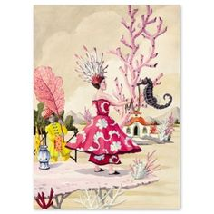 Check out this item at One Kings Lane! Harrison Howard, The Seahorse