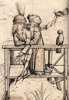 Housebook Master. MHfol19v-20r. Hausbuch_Wolfegg_19v_20r_Wasserburg - copia (2)