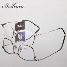823ff912aec36c Spectacle Frame Eyeglasses Men Women Vintage Computer Optical Glasses  Myopia Frame For - US  9.84
