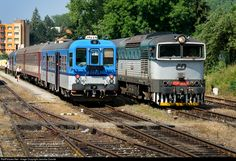 RailPictures.Net Photo: 754 039 6 Ceske Drahy CD 754 at Cesky Krumlov, Czech Republic by Jaroslav Dvorak