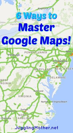 Learn Google Map Tricks to find anything!  Hotels, parking, walking trails, restaurants and more.
