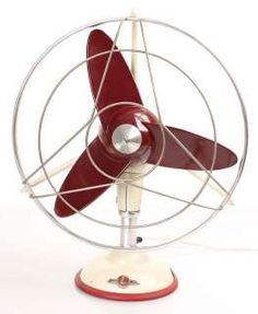art deco streamline design desk fan manufactured