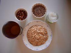 Granola mit Mandeln und Quinoa