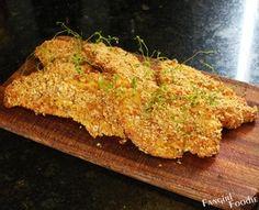 chicken schnitzel #food #chicken #schnitzel