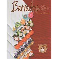 Livro Barrados para Pano de Prato por Samar Kauss nº01
