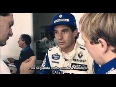 Ayrton Senna Percebe Problema Mecânicos em Carro da Williams FW16 - YouTube