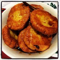 Nuegados de Yuca , comida típica salvadoreños !
