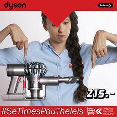 Σκουπάκι Dyson HH V6 Trigger σχεδιασμένο για δύσκολες εργασίες. Αφαιρεί τις τρίχες και την επίμονη βρωμιά χάρη στο συμπαγές ψηφιακό μοτέρ V6 Dyson και την τεχνολογία 2 Tier Radial Cyclone   ΑΠΟΚΤΗΣΤΕ ΤΟ ΕΥΚΟΛΑ : http://koukouzelis.com.gr/-/9500-dyson-hh-v6-trigger.html