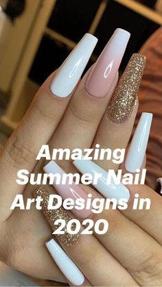 Clear Acrylic Nails, Simple Acrylic Nails, Summer Acrylic Nails, Summer Nails, Colored Acrylic Nails, Pink Nail Art, Purple Nails, Bling Nails, Nail Swag