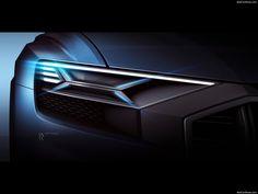 AUDI Q8 Concept Laser Headlamp Design Sketch