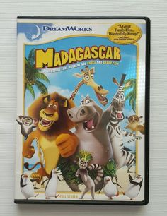 Madagascar (DVD, 2005, Full Screen, Movie) in DVDs & Movies, DVDs & Blu-ray Discs | eBay